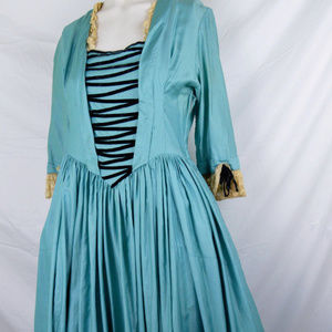 Vintage Costume Colonial 18th C Dress Demelza